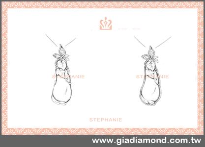 手绘项链设计图; 铅笔手绘男生头像分享; 【客制钻石坠头】;